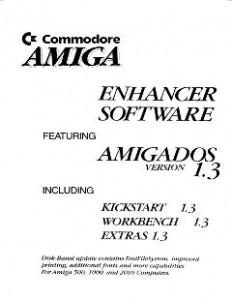 AmigaDOS 13 Enhancer