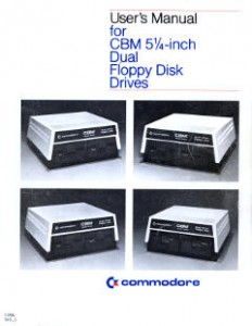 Commodore Dual Floppy Disk Drives Users Manual