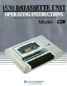 Commodore 1530 Datasette Operating Instructions
