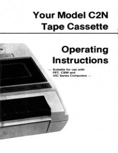 Commodore C2N Operating Instructions
