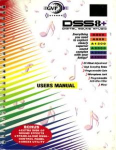 GVP DSS8+ Manual