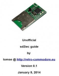 unofficial sd2iec guide