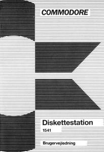 Commodore_Diskettestation_1541_Brugervejledning