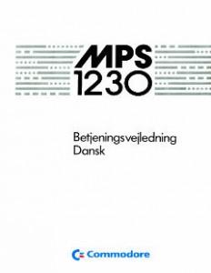 Commodore_MPS-1230_Usermanual_(da)