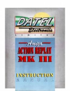 Datel_Electronics_Action_Replay_MKIII_Manual