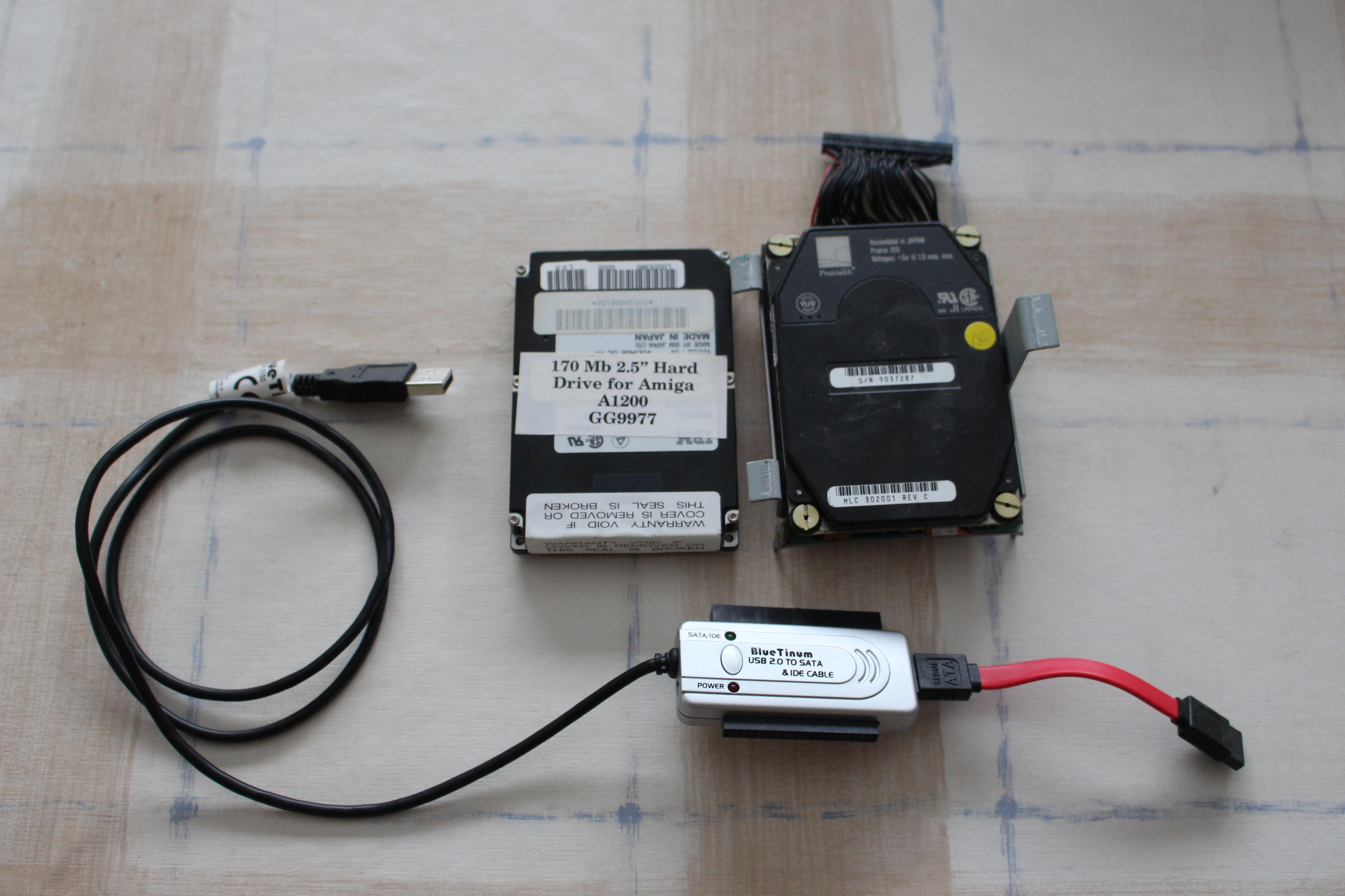 Making a backup of an Amiga SCSI drive | Retro Commodore