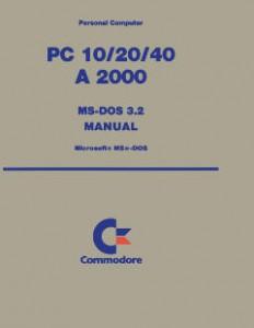Commodore_PC10-PC20-PC40-A2000_MS-DOS_3.2