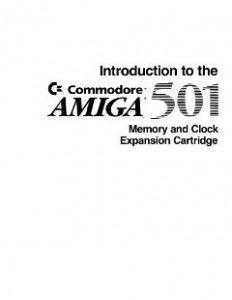 Commodore_A501_Memory_and_Clock_Expansion_Cartridge