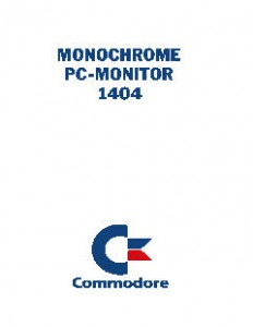 Commodore_Monochrome_PC-Monitor_1404_(en,de,fr,it,es,nl,da,no,fi,se)