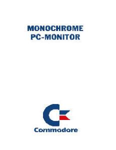 Commodore_Monochrome_PC-Monitor_(en,de,fr,it,es,nl,da,no,fi,se)