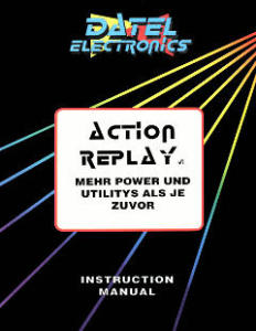 Datel_ActionReplay6_Manual_(de)