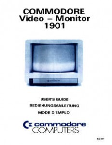 Commodore_1901_Video_Monitor_Users_Guide_(en,de,fr)