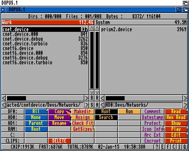 Network installation on the Amiga   Retro Commodore