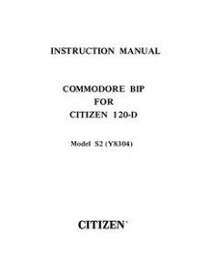 Commodore_BIP_For_Citizen_120-D_Manual