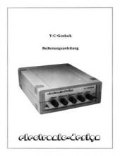ElectronicDesign_Y-C-Genlock_Bedienungsanleitung_(de)