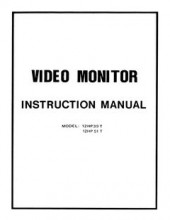 12HP_Video_Monitor_Instruction_Manual