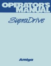 SupraCorp_Supra_Drive_Operators_Manual