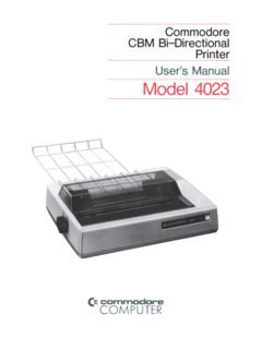 Commodore_CBM_Bi-Directional_Printer_Users_Manual_Model_4023