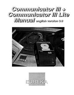 Eureka_Communicator-III_+_Communicator_III_Lite_Manual_english_version_3.0